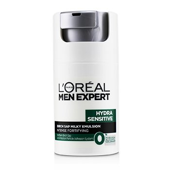 Men Expert Hydra Sensitive Birch Sap Milky Emulsion Intense Fortifying (For Sensitive Skin) (50ml/1.7oz)