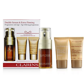Double Serum & Extra-Firming Collection: Double Serum 30ml + Extra-Firming Day 15ml + Extra-Firming Night 15ml (3pcs)