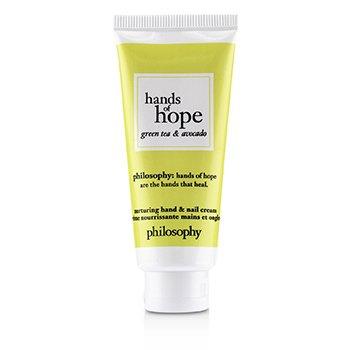 Hands of Hope Nurturing Hand & Nail Cream - Green Tea & Avocado (30ml/1oz)