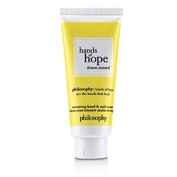 Hands of Hope Nurturing Hand & Nail Cream - Lemon Custard (30ml/1oz)