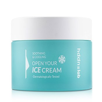 Hddn=Lab Open Your Ice Cream (Soothing & Cooling Icy Face Cream) (80ml/2.7oz)
