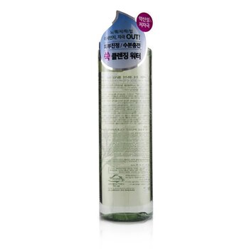 Hddn=Lab Back To The Pure Cleansing Water - Calming & Soothing Cleanses Fine Dust (300ml/10.14oz)