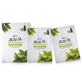 Jeju Green Tea Mask (Soothing) (10x22ml/0.74oz)