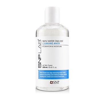 Lab+ Triple Water One-Step Cleansing Water - Hydration & Moisture (For All Skin Types) (250ml/8.45oz)