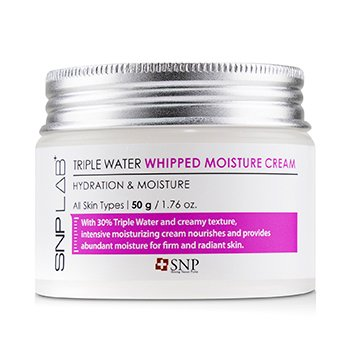 Lab+ Triple Water Whipped Moisture Cream - Hydration & Moisture (For All Skin Types) (50g/1.76oz)