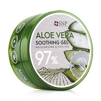 97% Aloe Vera Soothing Gel (Moisturizing & Cooling) (300g/10.58oz)