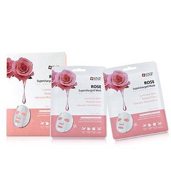 Rose Supercharged Mask (Moisturizing) (10x25ml/0.84oz)