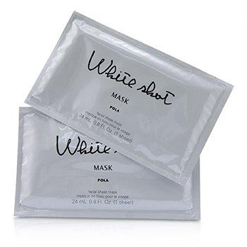 White Shot QX Set : 5x Facial Film Serum 0.08g + 5x Facial Sheet Mask 24ml (150ml/5oz)