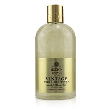 Vintage With Elderflower Bath & Shower Gel (300ml/10oz)