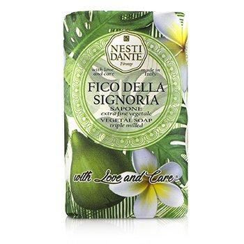 Triple Milled Vegetal Soap With Love & Care - Fico Della Signoria (250g/8.8oz)