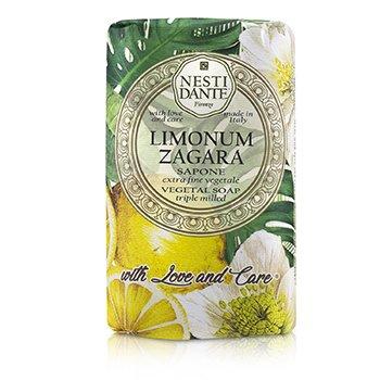 Triple Milled Vegetal Soap With Love & Care - Limonum Zagara (250g/8.8oz)