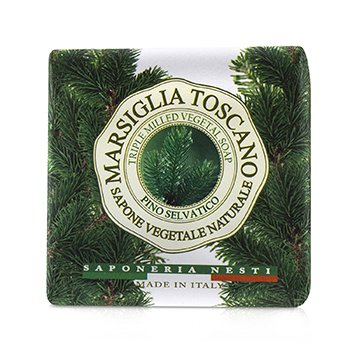 Marsiglia Toscano Triple Milled Vegetal Soap - Pino Selvatico (200g/7oz)