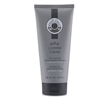 L'Homme Cedre Shower Gel (Body, Face & Hair) (200ml/6.6oz)