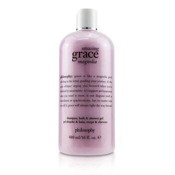 Amazing Grace Magnolia Shampoo,Bath & Shower Gel (480ml/16oz)