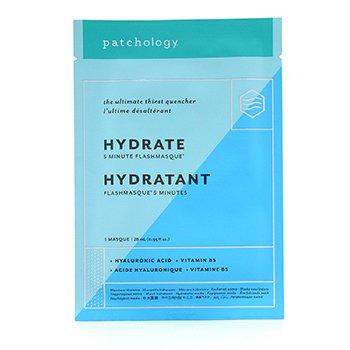 FlashMasque 5 Minute Sheet Mask - Hydrate (4x28ml/0.95oz)