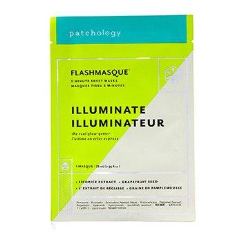 FlashMasque 5 Minute Sheet Mask - Illuminate (4x28ml/0.95oz)