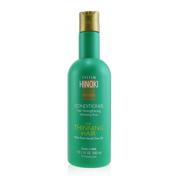 Hinoki Conditioner Hair Strengthening Volumizing Rinse (For Thinning Hair) (300ml/10.1oz)