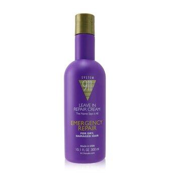 911 Leave In Repair Cream (For Dry, Damaged Hair) (300ml/10.1oz)