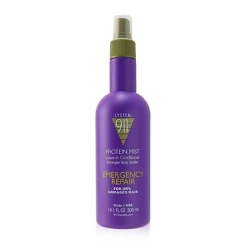 911 Protein Mist Leave-in Conditioner (For Dry, Damaged Hair) (300ml/10.1oz)