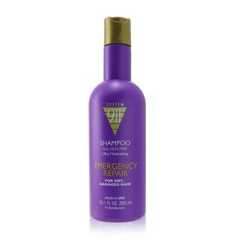911 Shampoo (For Dry, Damaged Hair) (300ml/10.1oz)