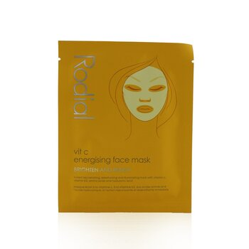 Vit C Energising Face Mask (4x20ml/0.67oz)
