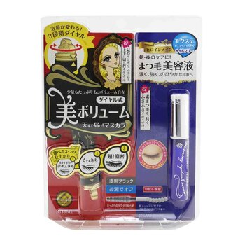 Heroine Make SP Heroine Make Volume Control Mascara & Watering Eyelash Serum Set - # 01 Black (2pcs)
