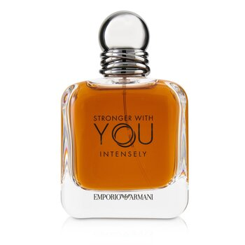 Emporio Armani Stronger With You Intensely Eau De Parfum Spray (Box Slightly Damaged) (100ml/3.4oz)