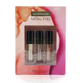 Metal Eyes Gen Nude Metallic Liquid Eyeshadow Trio (3pcs)