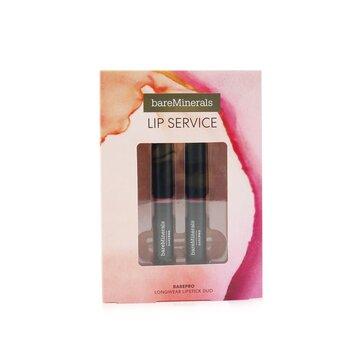 Lip Service BarePro Longwear Lipstick Duo (2pcs)