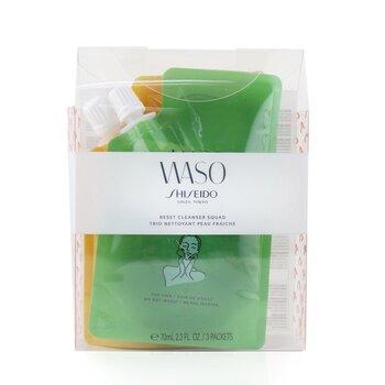Waso Reset Cleanser Squad Kit: 1x Wild Garden 70ml + 1x Romantic Dream 70ml + Good Vibes 70ml (3x70ml/2.3oz)
