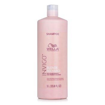 Invigo Blonde Recharge Color Refreshing Shampoo - # Cool Blonde (1000ml/33.8oz)