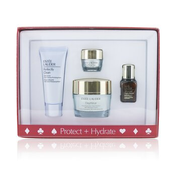 Protect+Hydrate Collection: DayWear Moisture Creme SPF 15 + Advanced Night Repair + DayWear Eye + Perfectly Clean (4pcs)
