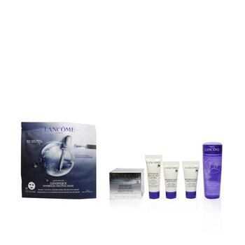 Renergie Travel Set: Lifting Cream + Gel Lotion + Serum + Eye Cream + Genifique Mask (5pcs+1bag)