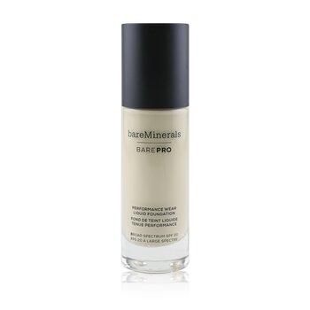 BarePro Performance Wear Liquid Foundation SPF20 - # 02 Ivory (30ml/1oz)