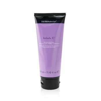 Kakadu C Brightening Daily Cleanser, Toner & Makeup Remover (Tube) (210ml/7.1oz)