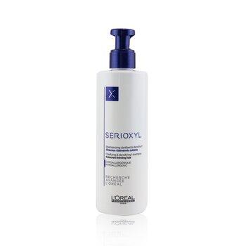 Professionnel Serioxyl Clarifying & Densifying Shampoo (Coloured Thinning Hair) (250ml/8.5oz)