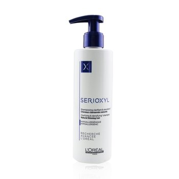 Professionnel Serioxyl Clarifying & Densifying Shampoo (Natural Thinning Hair) (250ml/8.5oz)