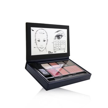 Ultra Dior Be Bare Fashion Palette (4x Eyeshadow, 2x Lip, 1x Blush) (13.2g/0.46oz)