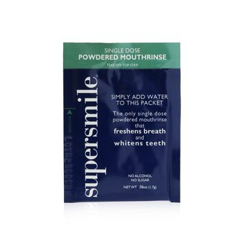 Single Dose Powdered Mouthrinse (No Alcohol/Sugar) (60x1.7g/0.06oz)