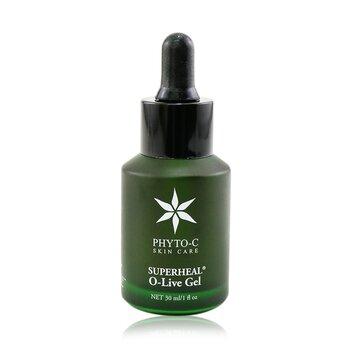 Superheal O-Live Gel (Hyaluronic Acid & Olive Leaf Extract Moisturizing Gel) (30ml/1oz)