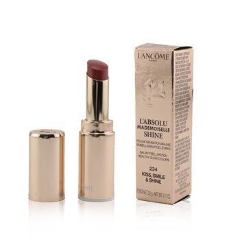 L'Absolu Mademoiselle Shine Balmy Feel Lipstick - # 234 Kiss, Smile & Shine (3.2g/0.11oz)