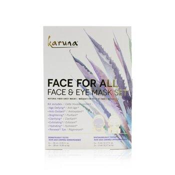 Face For All Face & Eye Mask Set (7pcs)