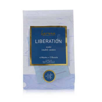 Liberation Kit: Hydrating+ Face Mask + Anti-Oxidant+ Face Mask + Renewal+ Eye Mask + Under Eye Melting Boost (6pcs)
