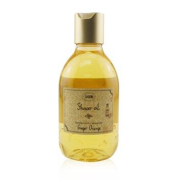 Shower Oil - Ginger Orange (Plastic Bottle) (300ml/10.5oz)