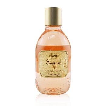 Shower Oil - Lavender Apple (Plastic Bottle) (300ml/10.1oz)
