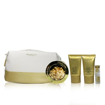 Ceramide Lift & Firm Youth-Restoring Set: ADVANCED Ceramide Capsules 60caps+ Day Cream SPF30 15ml+ Night Cream 15ml+ Eye (4pcs+1bag)
