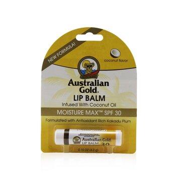 Lip Balm Moisture Max SPF 30 Infused with Coconut Oil (4.2g/0.15oz)