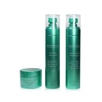 3-Step Starter Set : Sensitive Skin Cleansing Oil 110ml + Soothing Reset Mist 110ml + Barrier Fix Daily Hydrator 50ml (3pcs)