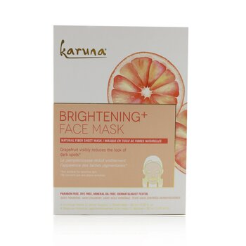 Brightening+ Face Mask (Box Slightly Damaged) (4sheets)