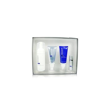 Skin Active Repair Kit: Exfoliating Wash + Matrix Support SPF30 + Cellular Restoration + Intensive Eye Therapy (4pcs)